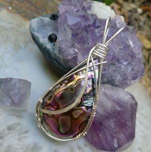 Gorgeous handmade Abalone necklace